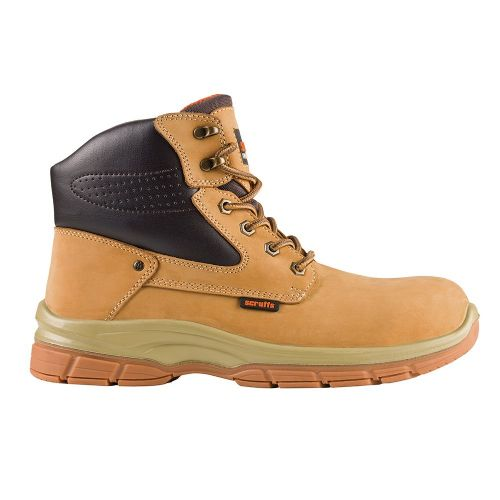 Scruffs Hatton Safety Boot Tan Size 7
